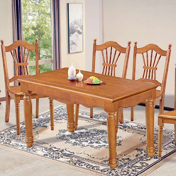 實木歐式餐桌