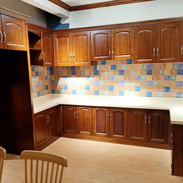 高端廚房實木家具