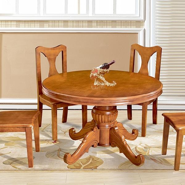 實木歐式大圓桌