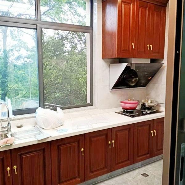 廚房實木家具