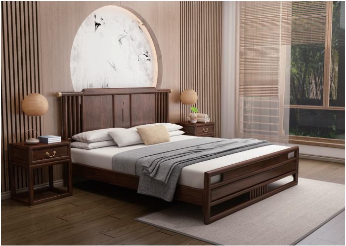 臥室實木床